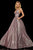 Sherri Hill - 52960 V- Neckline Empire Glitter A Line Dress Special Occasion Dress