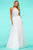 Sherri Hill - 53618 Halter Long A-Line Dress Prom Dresses 00 / Ivory/Silver