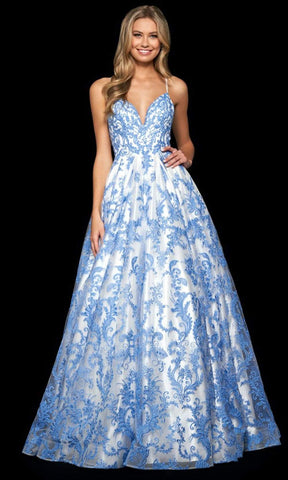 Sherri Hill - 53921 Embroidered Sweetheart Ballgown