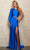 Sherri Hill - 54190 Jeweled Bishop Sleeve Two Piece Trumpet Gown Prom Dresses