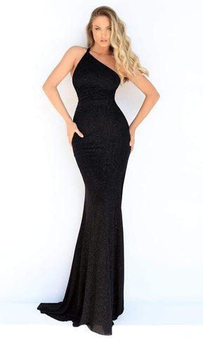 Tarik Ediz - 50847 Asymmetrical Trumpet Evening Gown