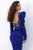 Tarik Ediz - 93883 Ruched Sweetheart Long Sleeves Dress Evening Dresses