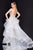 Terani Couture - 1811P5820 Bedazzled Strapless Tulle High Low Dress Special Occasion Dress