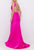 Terani Couture - 2011P1033 Deep V-neck Trumpet Dress Prom Dresses