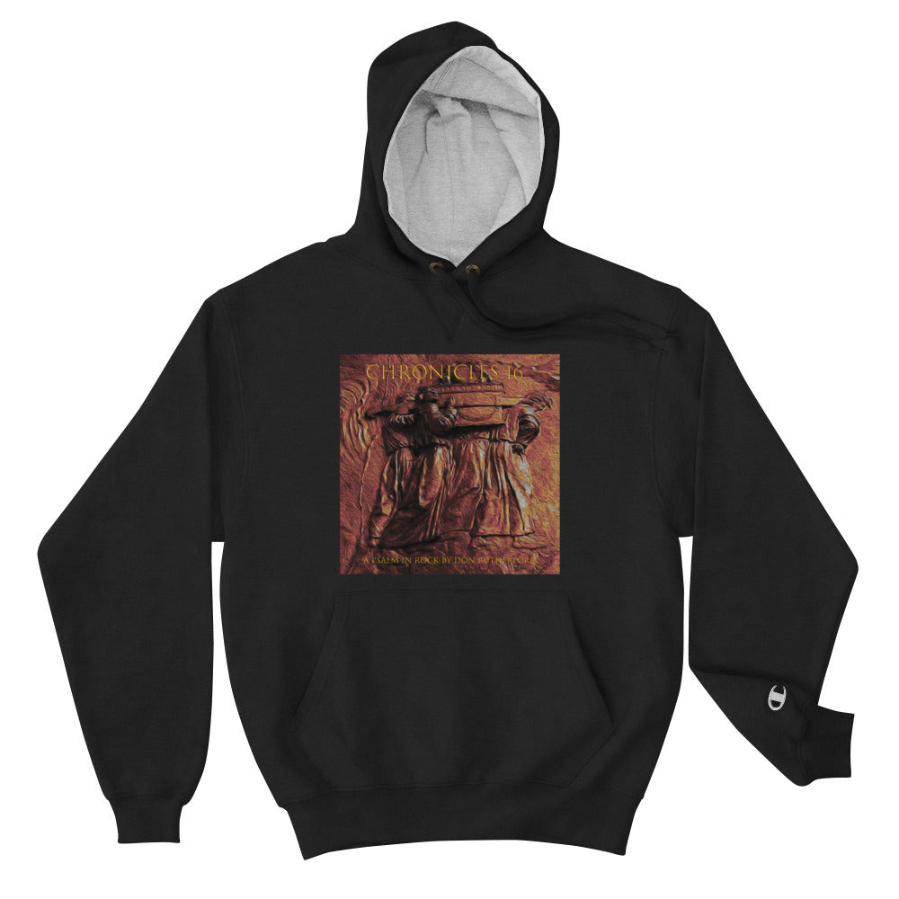 Hoodie with Chronicles 16: A Psalm in Rock artwork