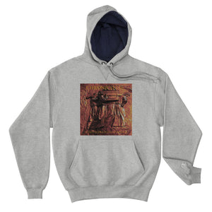 "Champion Hoodie ""Chronicles 16: A Psalm in Rock"" artwork"