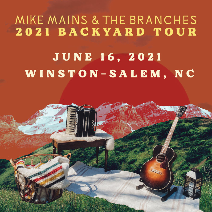 Backyard Tour - June 16 - Winston-Salem, NC