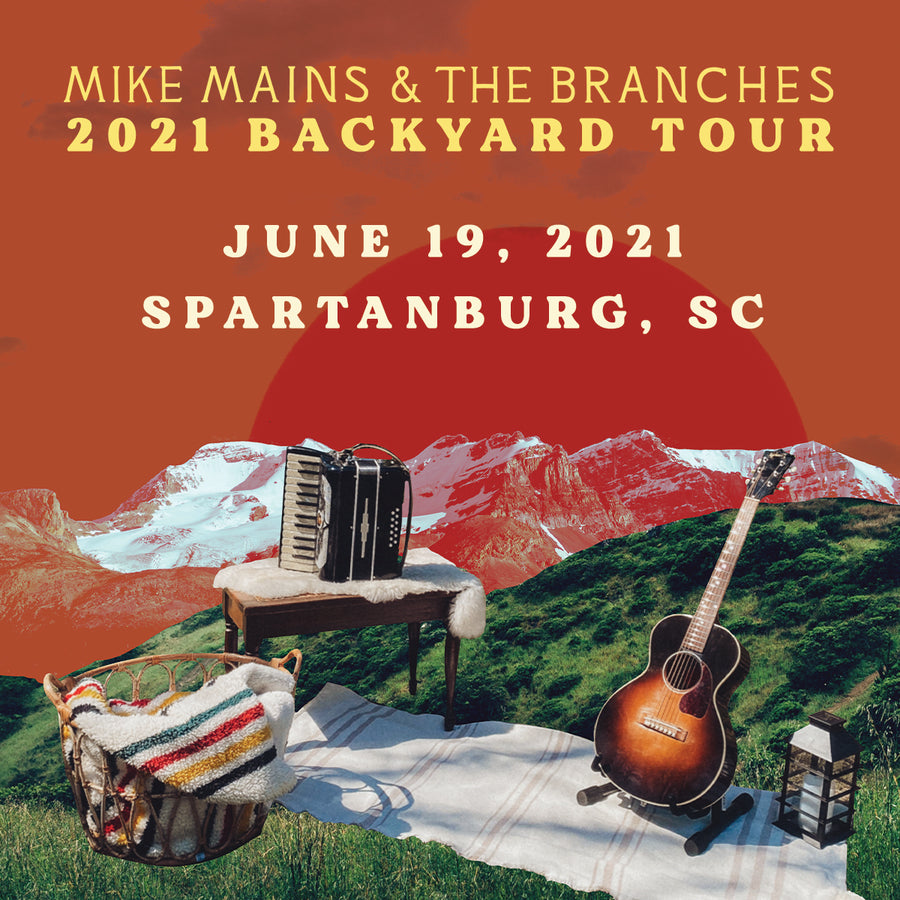 Backyard Tour - June 19 - Spartanburg, SC