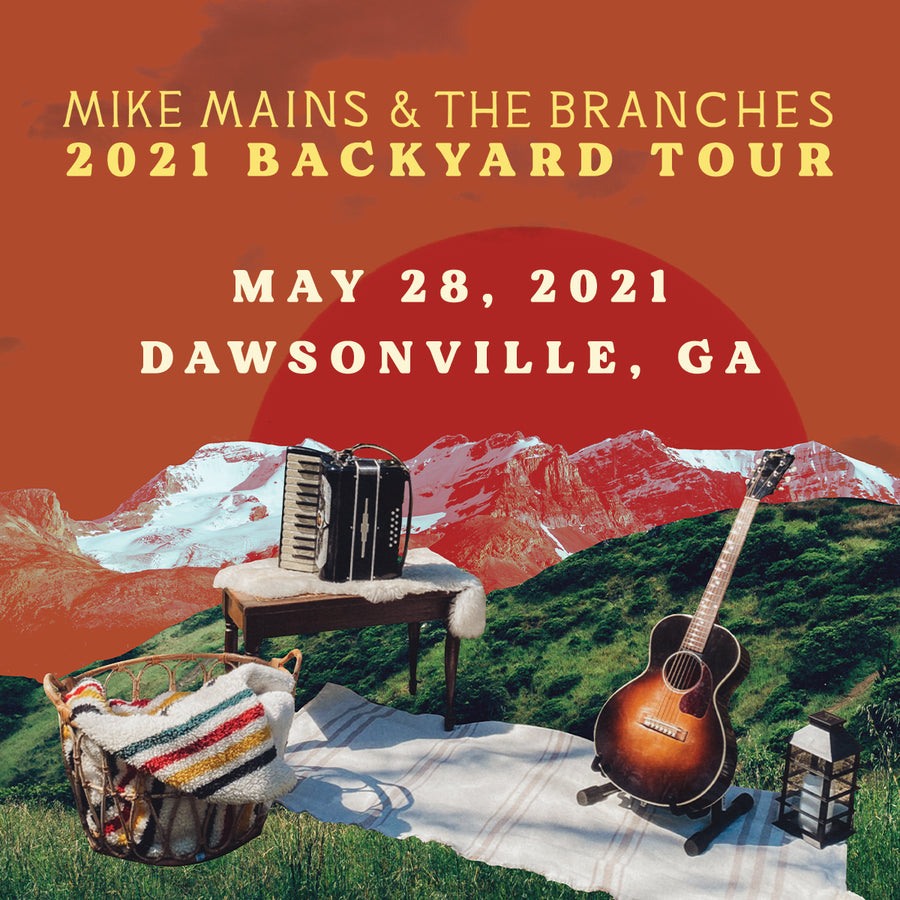 Backyard Tour - May 28 - Dawsonville, GA