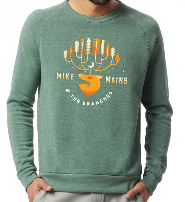 Mike Mains & The Branches 2018 Holiday Sweater