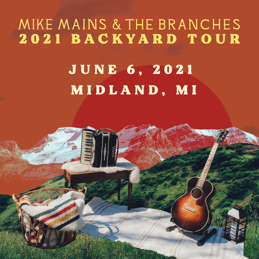 Backyard Tour - June 6 - Midland, MI