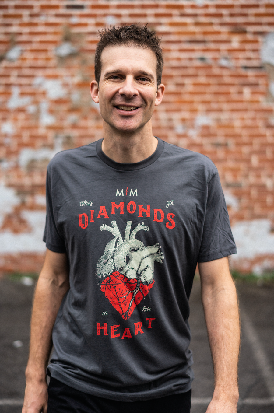 Diamonds In Her Heart T-Shirt