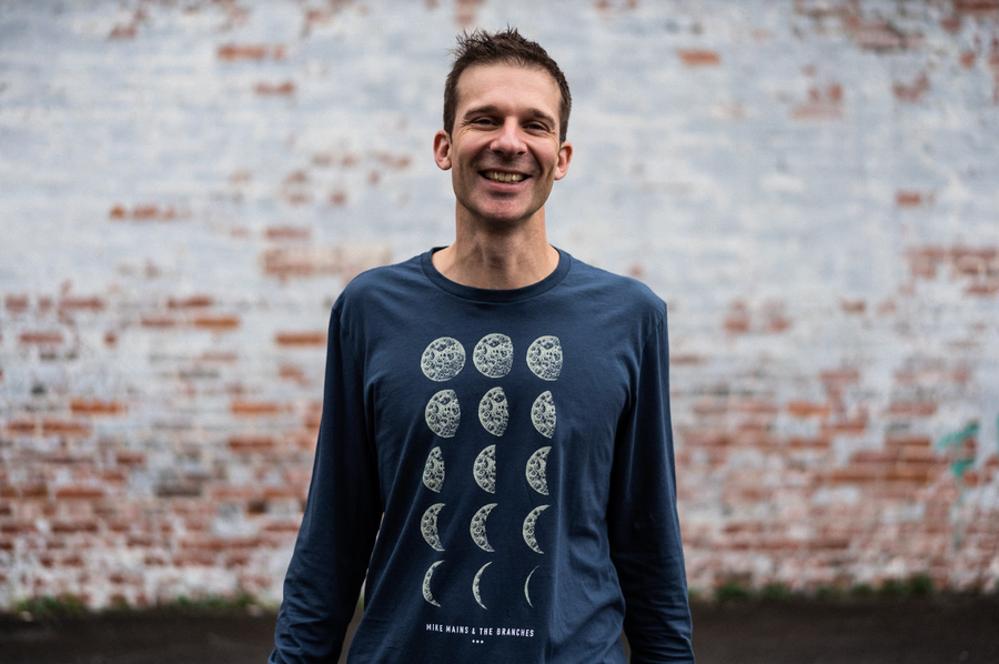 Phases of the Moon Long Sleeve Shirt