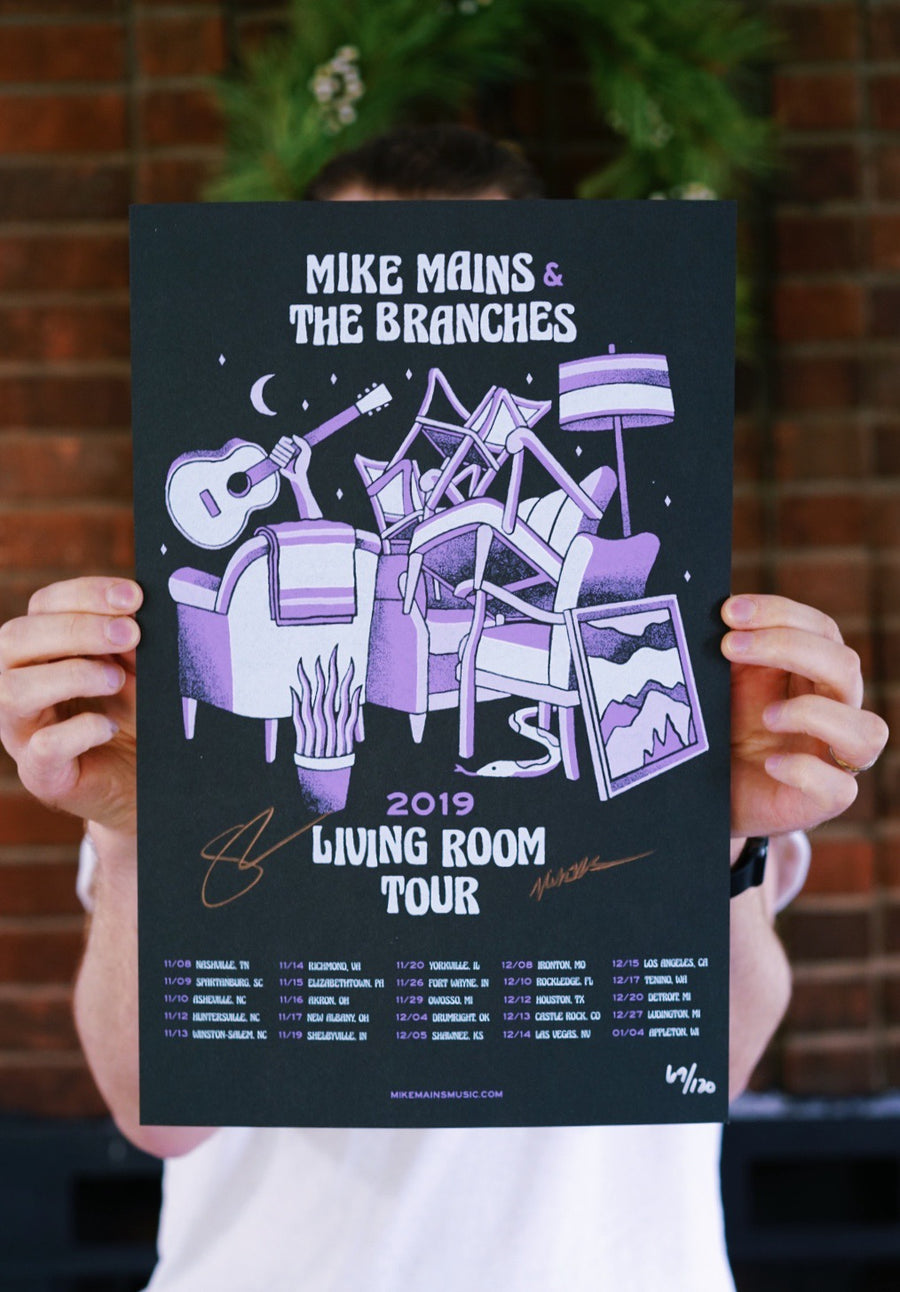 Autographed 2019 Living Room Tour Poster