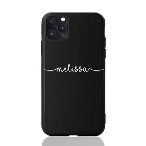 Custom Text Melissa Font Phone Case