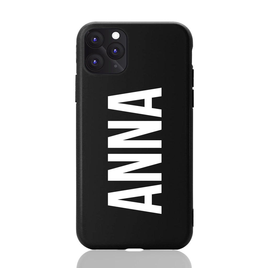 Custom Personalised Matte Black iPhone Case Online Australia