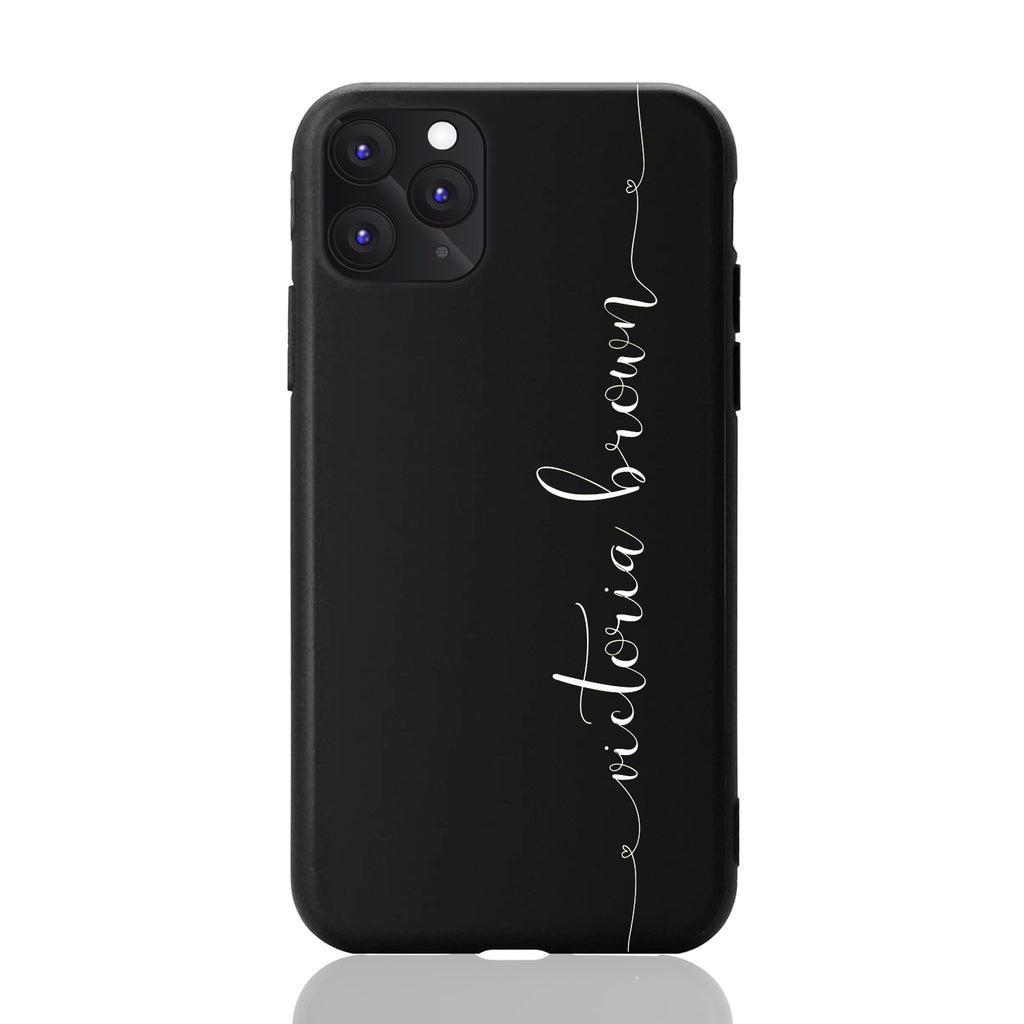 Custom Personalised Matte Black iPhone Cases Australia