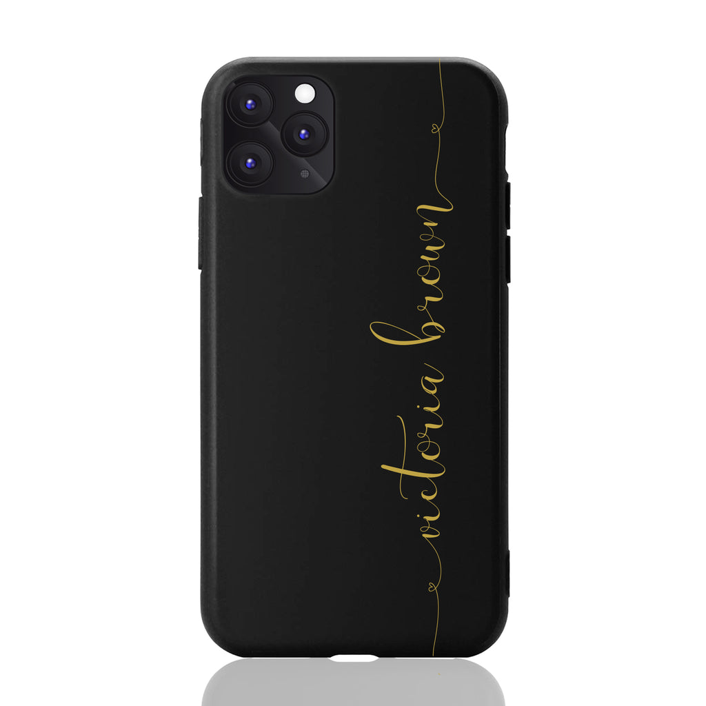 Custom Personalised Script iPhone 11 Case Cover
