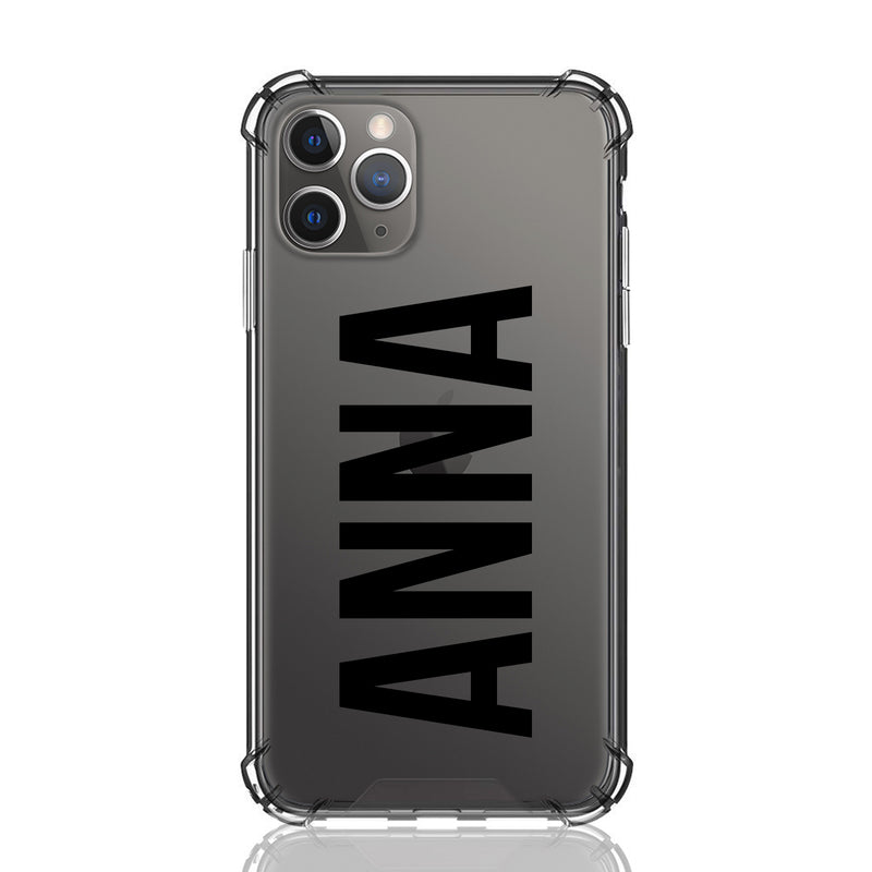 Anna Font Clear iPhone Case