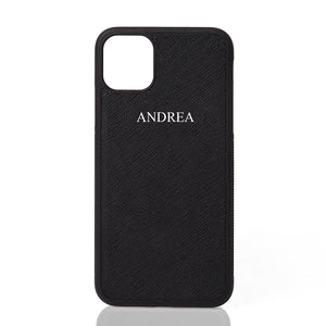 Andrea Font Leather iPhone Case