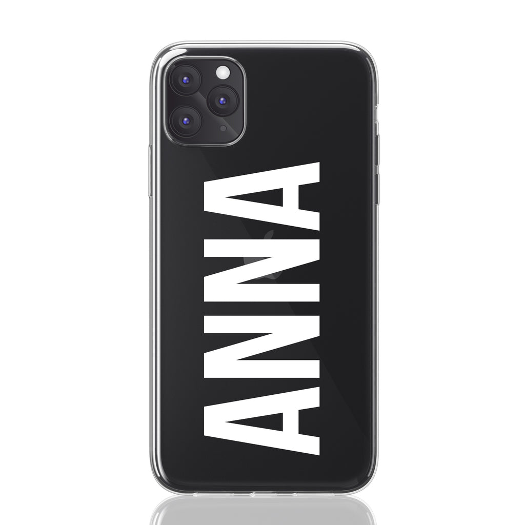 Custom Personalized Clear Hybrid iPhone Cases