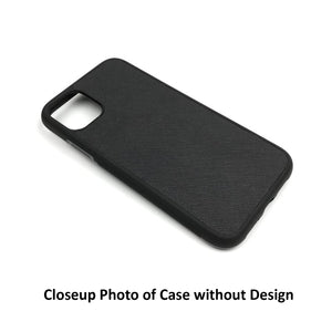 Custom Text Jessica Font Leather Case