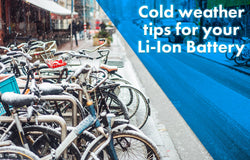 Cold weather tips for your Li-Ion Battery Ebikeling