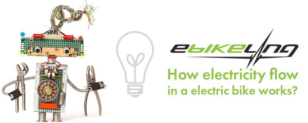 How electricity flow in an electric bike works? Ebikeling
