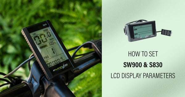 How to Set LCD Display Parameters Ebikeling
