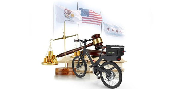 Illinois e-bike law Ebikeling