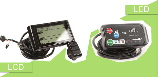 LED or LCD display? Ebikeling