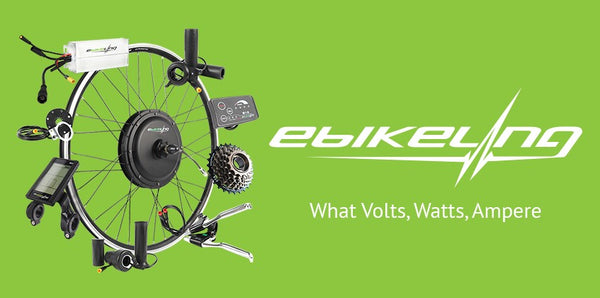 What Volts, Watts, Ampere and Amp Hours mean? Ebikeling