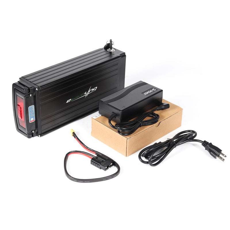 48V 19.2AH Rear Rack LG Ebike Battery Ebikeling