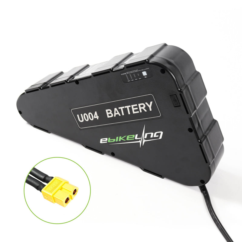 52V 19.2AH Triangle LG Ebike Battery Ebikeling