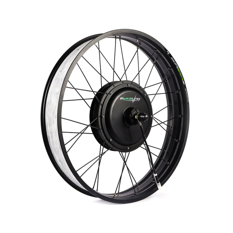 "Waterproof 48V 1200W 26"" Fat Tire Direct Drive Front Rear Ebike Motor - Wheel Only Ebikeling Store"
