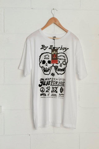 Egy Boy hand printed T-shirt
