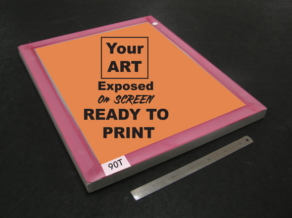 Image Exposed - Ready to Print 90T 500mm x 600mm