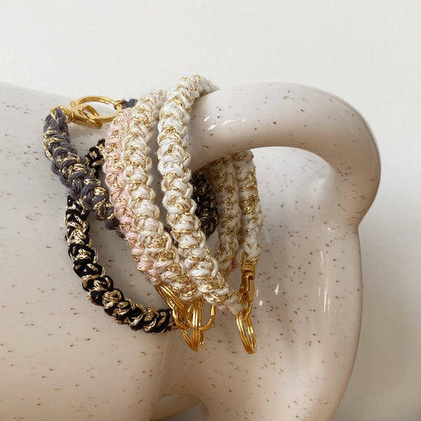 "Bracelet ""ALL"" - chiné or"