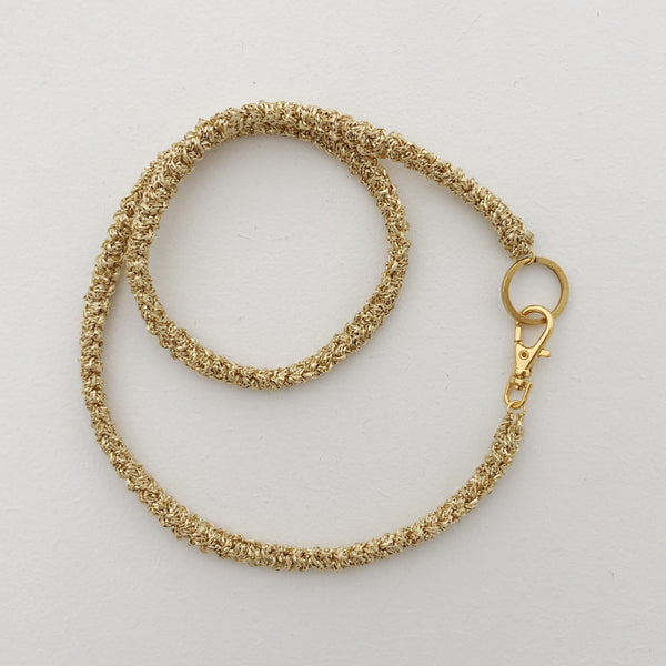 "Collier ""ALL"" - gold"
