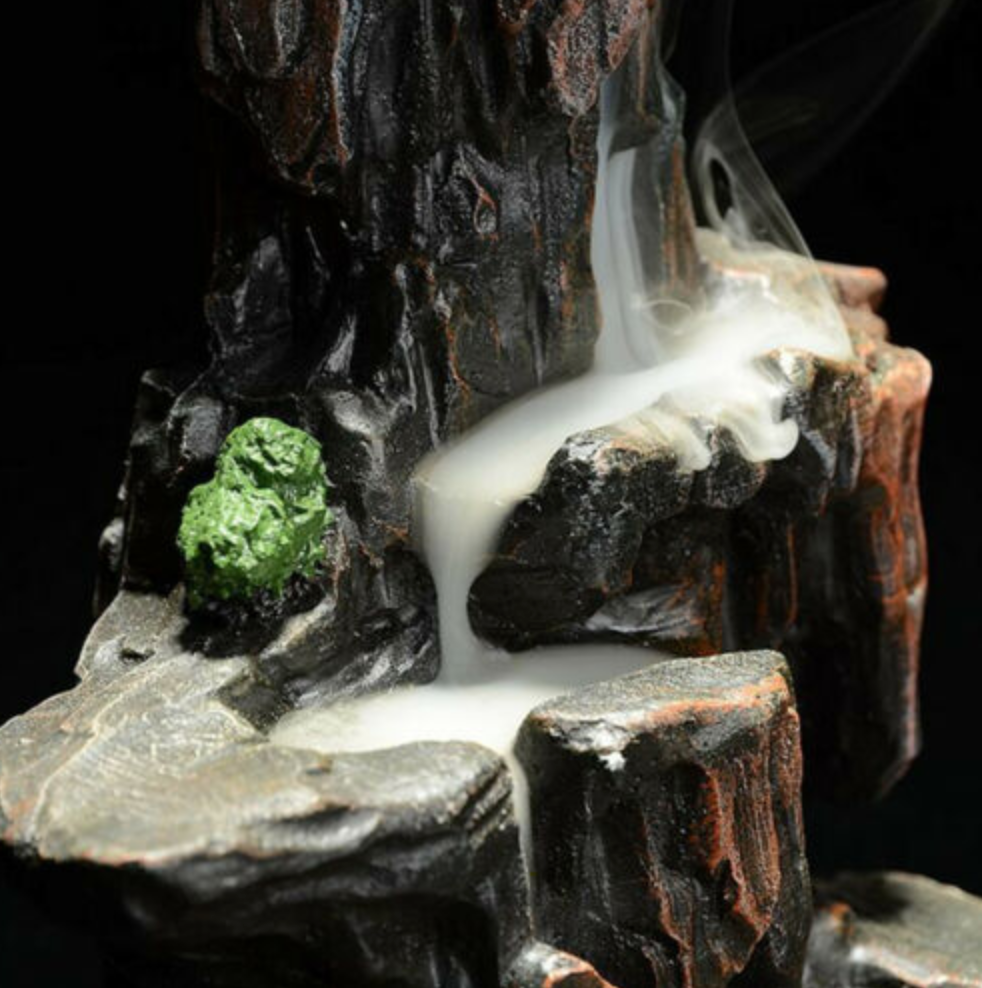 Mystical Mountain Backflow Incense Burner