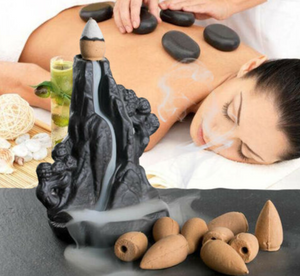 Rockery Backflow Incense Burner - Shanghai Stock