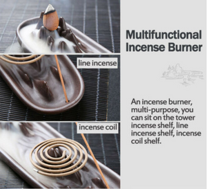 Horizon Mountain Backflow Incense Burner