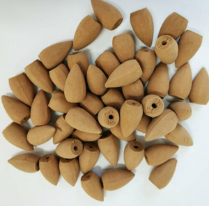 50 pcs Aromatic Cones for Backflow Incense Burner