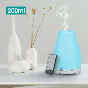 Ultrasonic Aromatherapy Diffuser Electric Air Humidifier 200 ml