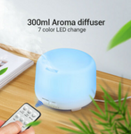 Ultrasonic Aromatherapy Diffuser Electric Air Humidifier 300 ml