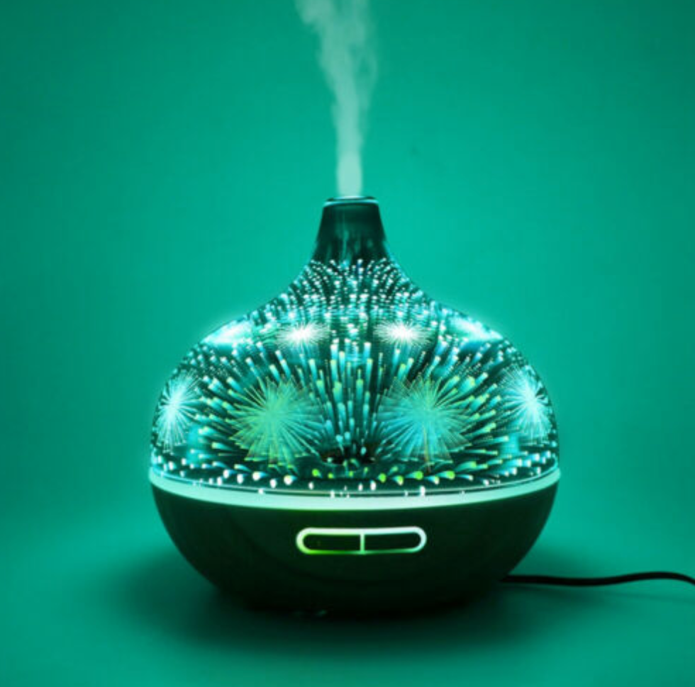 Fireworks Ultrasonic Aromatherapy Diffuser Electric Air Humidifier 400 ml