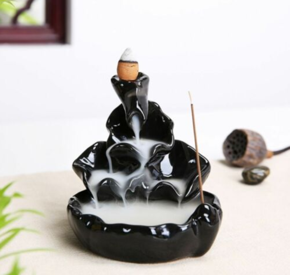 Love Backflow Incense Burner