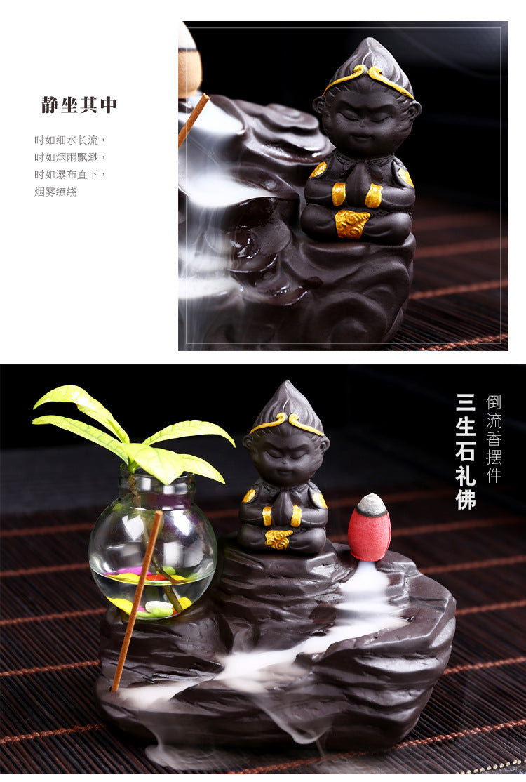 The Lovely Little Monkey Backflow Incense Burner - 4 styles