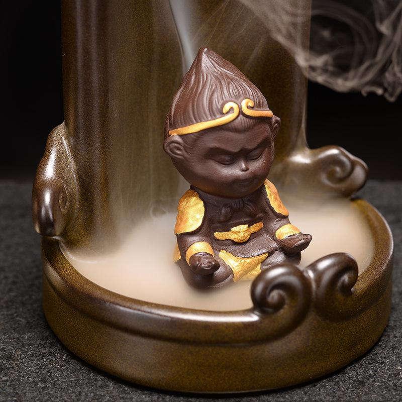 Monkey Mountain River Backflow Incense Burner - Shanghai Stock