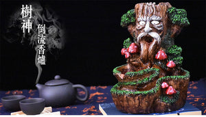 Old Wise Bark Incense Burner Holder - Shanghai Stock